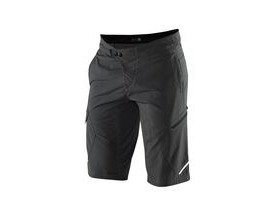 100% Ridecamp Shorts Charcoal