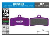 GALFER Shimano Zee - Saint  E-bike (Purple) Disc Pads FD426G1652