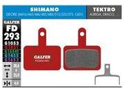 GALFER Shimano BR-MT200 Wet Weather Disc Pads (Red) FD293G1851