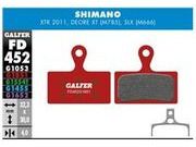 GALFER Shimano XT M8000 - SLX M7000 Wet Weather Disc Brake Pad (Red) FD452G1851