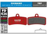 GALFER Shimano XT M8020 4 piston Wet Weather Disc Brake Pad (Red) FD426G1851