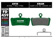 GALFER Sram Guide R Pro Competition Disc Brake Pads (green) FD459G1554T