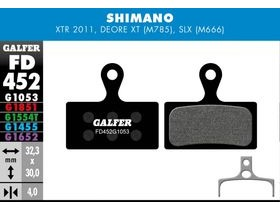 GALFER Shimano XT M8000 - SLX M7000 Pro Competition Disc brake pads (green)
