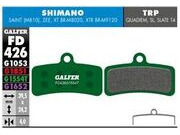 GALFER Shimano XT M8020 4 piston Pro Competition Disc Brake Pad (green) FD426G1554T