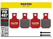 GALFER Magura MT5 MT7 Wet Weather Disc Brake Pads (red) FD487G1851
