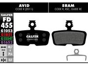 GALFER Avid Code Wet Weather Disc Brake Pads (red)