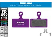 GALFER Shimano XT M8000 - SLX M7000 E bike Disc Brake Pad (purple) FD452G1652