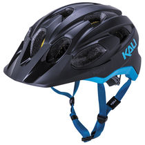 KALI PROTECTIVES Pace Solid Matt Black and Blue