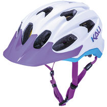 KALI PROTECTIVES Pace Solid Matt White Blue and Purple