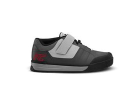 Ride Concepts Transition Shoes Charcoal / Red
