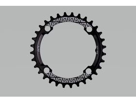 UNITE COMPONENTS Grip Ring 104 BCD in Black