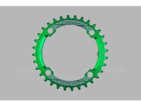UNITE COMPONENTS Grip Ring 104 BCD in Green