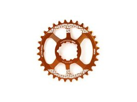 UNITE COMPONENTS Grip Ring Direct Mount Sram Boost in Orange