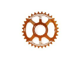 UNITE COMPONENTS Grip Ring Direct Mount Race Face Cinch in Orange