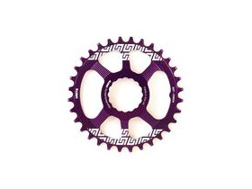 UNITE COMPONENTS Grip Ring Direct Mount Race Face Cinch in Purple