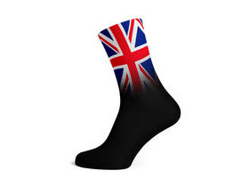 SOX FOOTWEAR Union Jack Crew Style Premium Cycling Sock