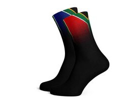 SOX FOOTWEAR RSA Flag Crew Style Premium Cycling Sock