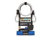 OXFORD Alarm D Max D-Lock and Cable 320mm x 173mm