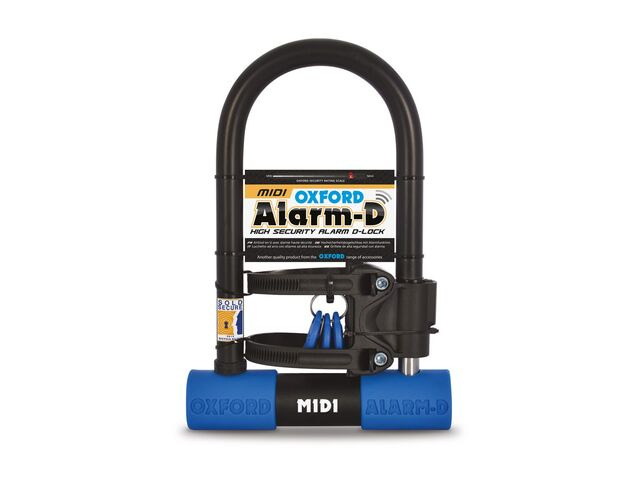 OXFORD Alarm D Midi D-Lock 260mm x 173mm click to zoom image