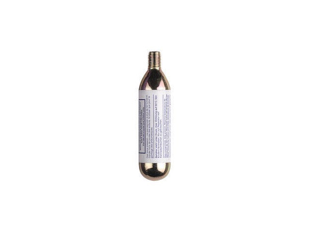 WELDTITE Jetvalve CO2 Refill Cylinder Threaded 16g click to zoom image