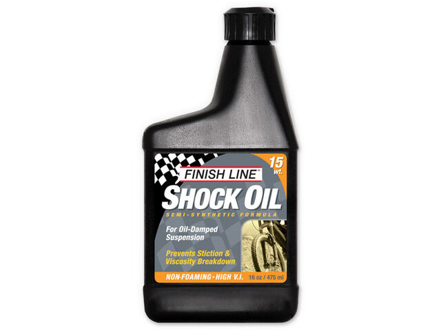 FINISH LINE Shock oil 15wt 16oz/475ml click to zoom image