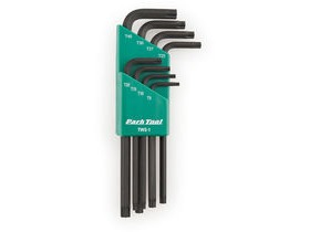 PARK TOOLS TWS-1 L-Shaped Torx Compatible Wrench Set