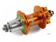 HOPE Pro 4 Rear Hub Orange 135mm Quick Release click to zoom image