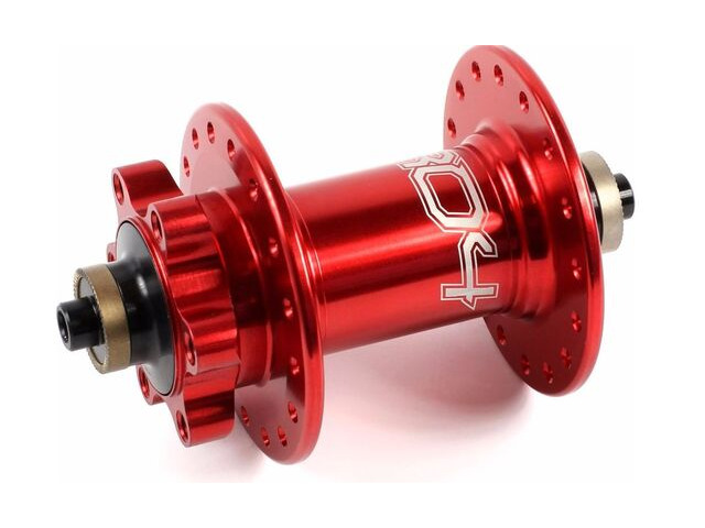 HOPE Pro 4 Front Hub Red Quick Release click to zoom image