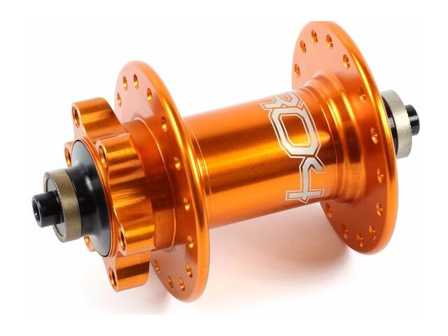 HOPE Pro 4 Front Hub Orange Quick Release click to zoom image