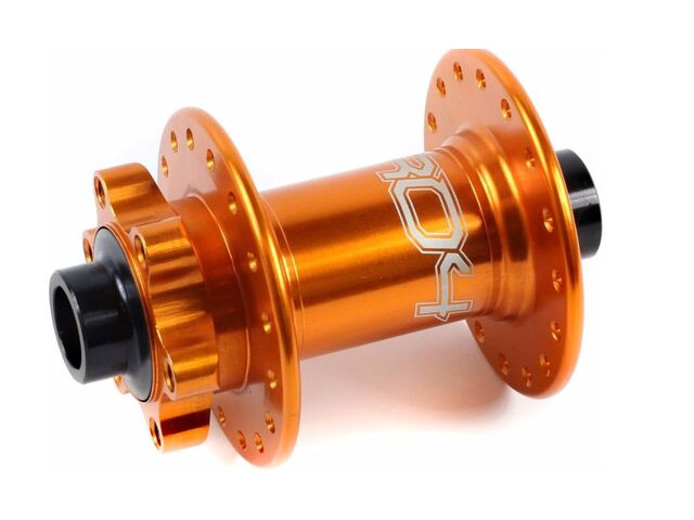 HOPE Pro 4 Front Hub Orange 15mm click to zoom image