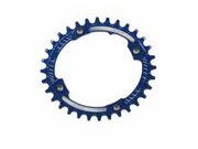 HOPE Oval Narrow wide Chain ring 104BCD in blue