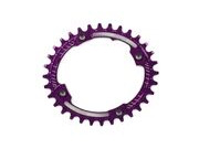 HOPE Oval Narrow wide Chain ring 104BCD in purple