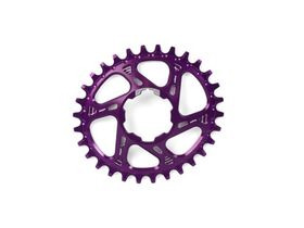HOPE Oval Narrow Wide Direct Mount in Purple