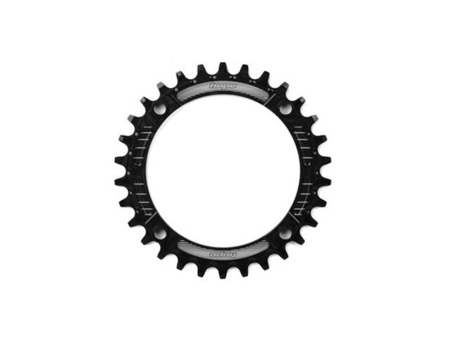 HOPE Narrow Wide Chainring 104 BCD in Black click to zoom image