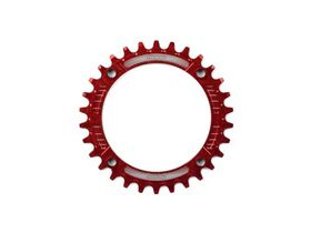 HOPE Narrow Wide Chainring 104 BCD in Red