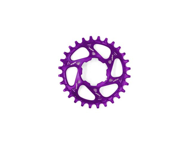 HOPE Direct Mount Chainring in Purple Boost. click to zoom image