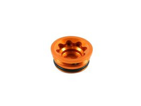 HOPE V4 Bore Cap Small in Orange