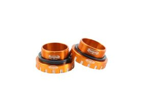 HOPE Bottom Bracket Stainless 68-73-83mm - 30mm axle in Orange
