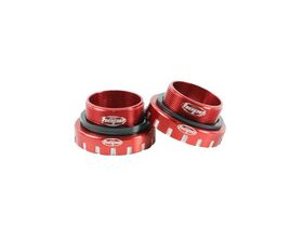 HOPE Bottom Bracket Stainless 68-73-83mm - 30mm axle in Red