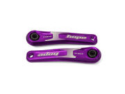 HOPE Ebike Cranks 155mm Purple