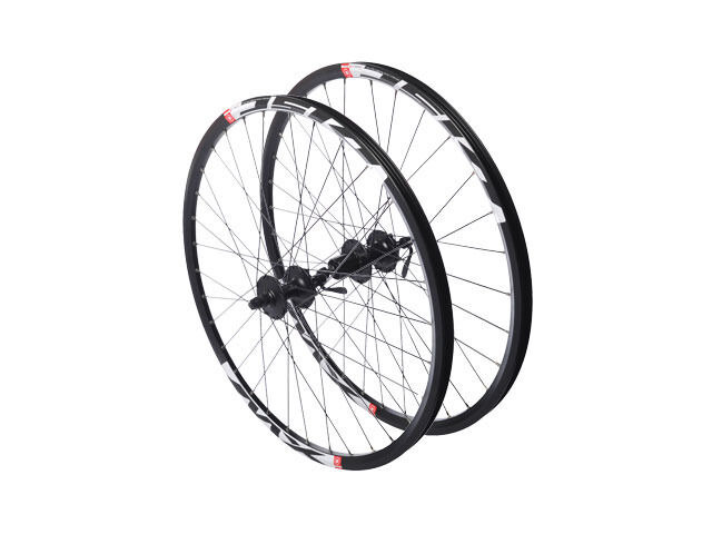 "RUSH 26"" QR Mountain bike wheelset shimano black rims click to zoom image"