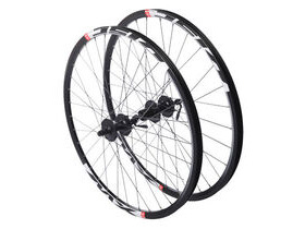 "RUSH 26"" QR Mountain bike wheelset shimano FH-M 525 black rims"