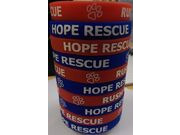 RUSH Rush Cycles Hope Rescue Charity Band Red